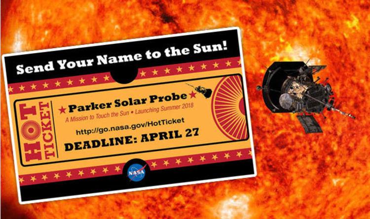 Envía tu nombre al Sol con la Sonda Parker Solar Probe de la NASA