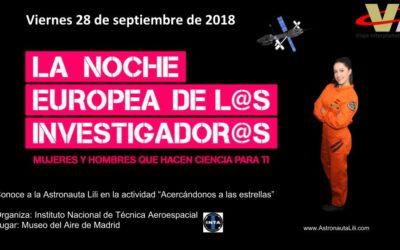 Noche Europea de los Investigadores y las Investigadoras de Madrid