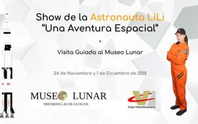 Ven a conocerme el 24 de noviembre y 1 de diciembre en el Museo Lunar (Comunidad de Madrid)