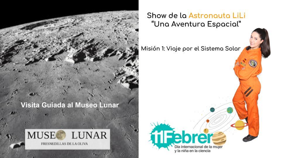 9 de febrero Día de la Mujer y la Niña en la Ciencia en el Museo Lunar