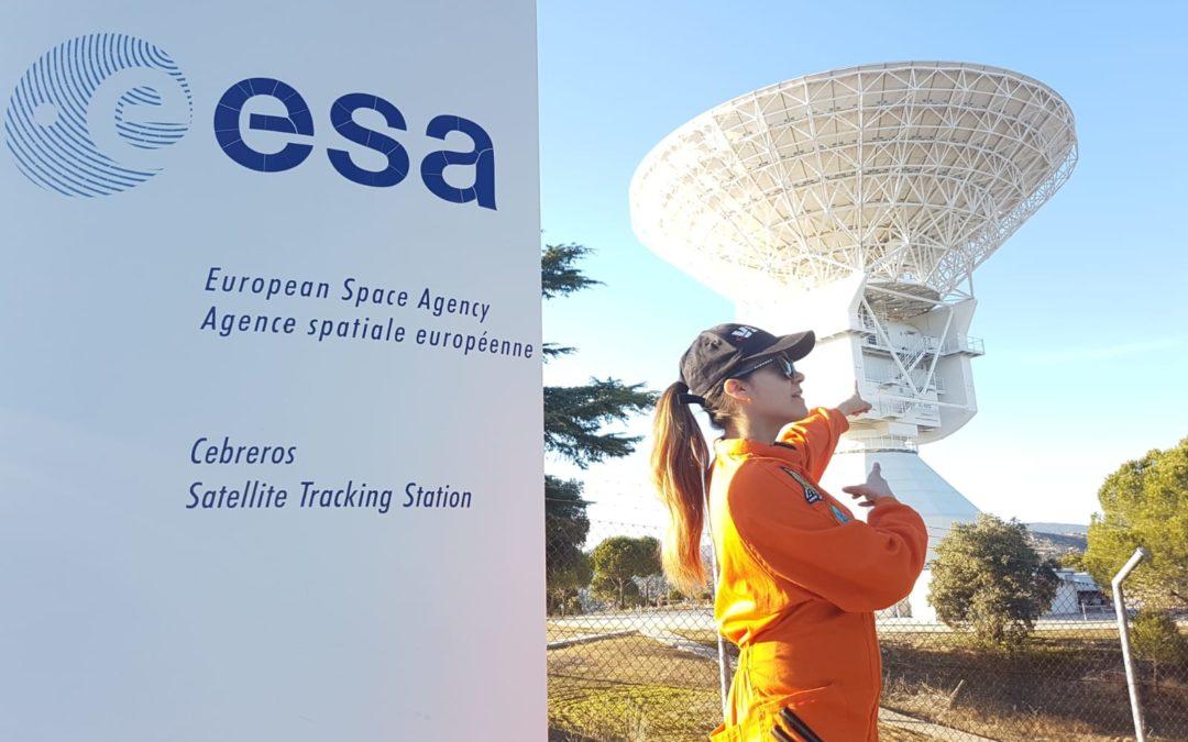 Nuevo Centro de Visitantes de la Agencia Espacial Europea en Cebreros (Ávila)