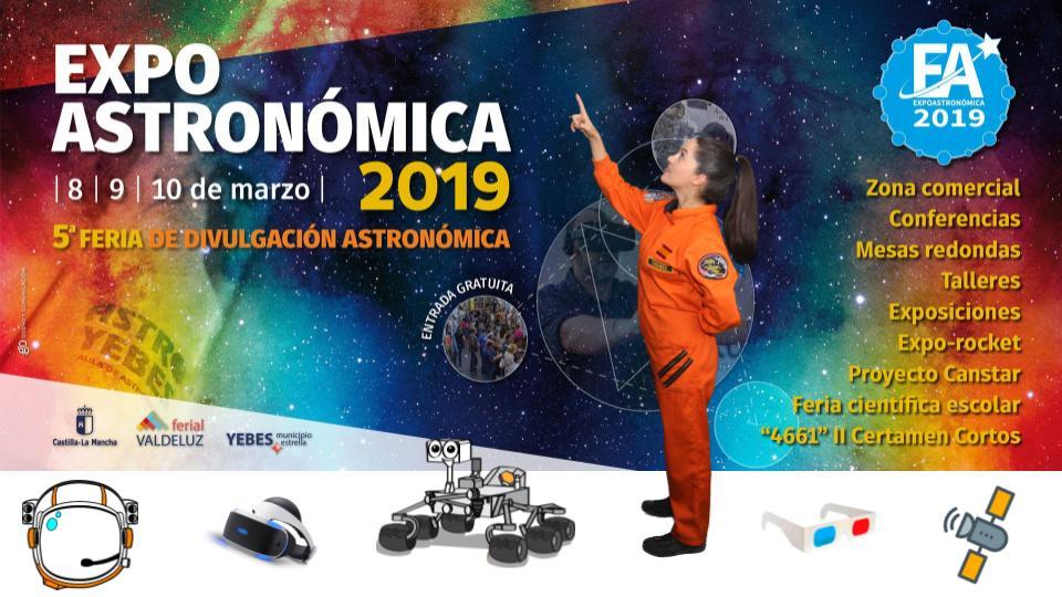 Expoastronómica 2019 Feria de Divulgación Astronómica 8, 9 Y 10 de Marzo.