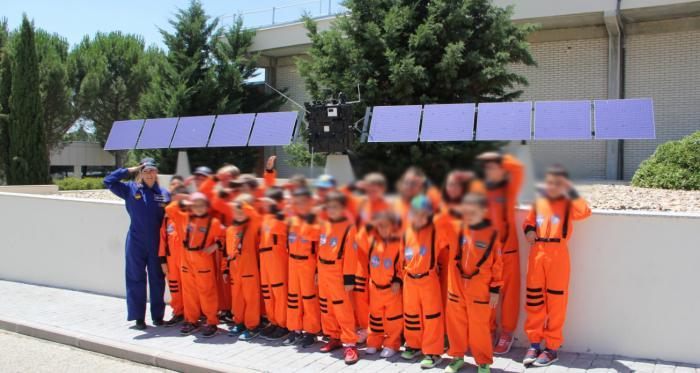 Space Summer School 2019 – Campamento Espacial con la Astronauta LiLi