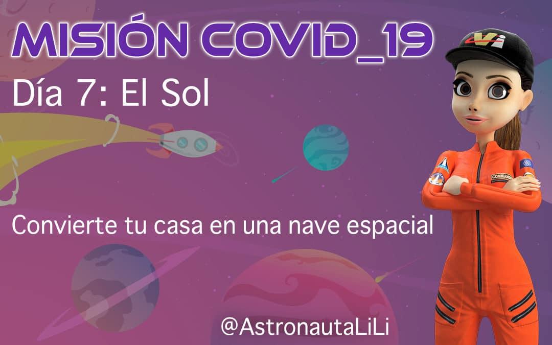Misión COVID_19. Día 7: El Sol