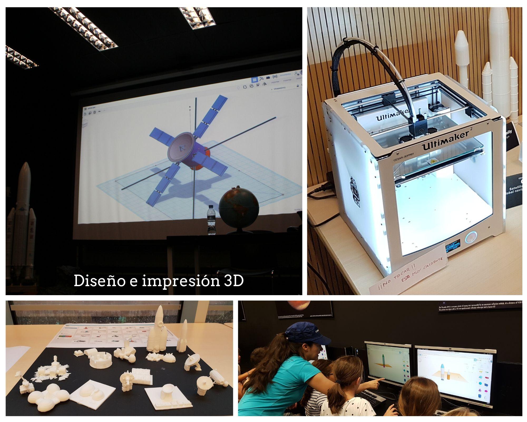 Diseño 3D e impresión 3D