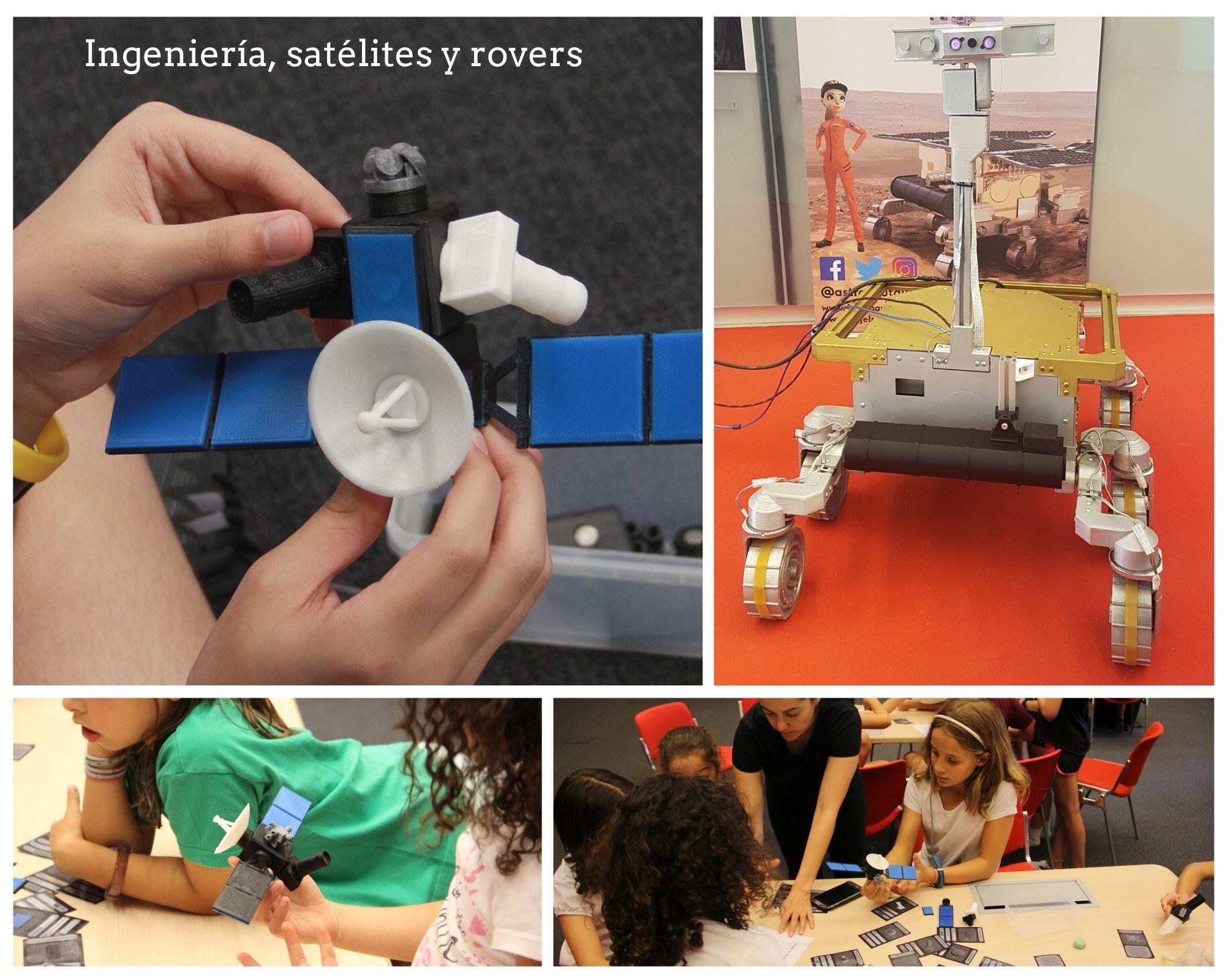 Ingeniería y satélites