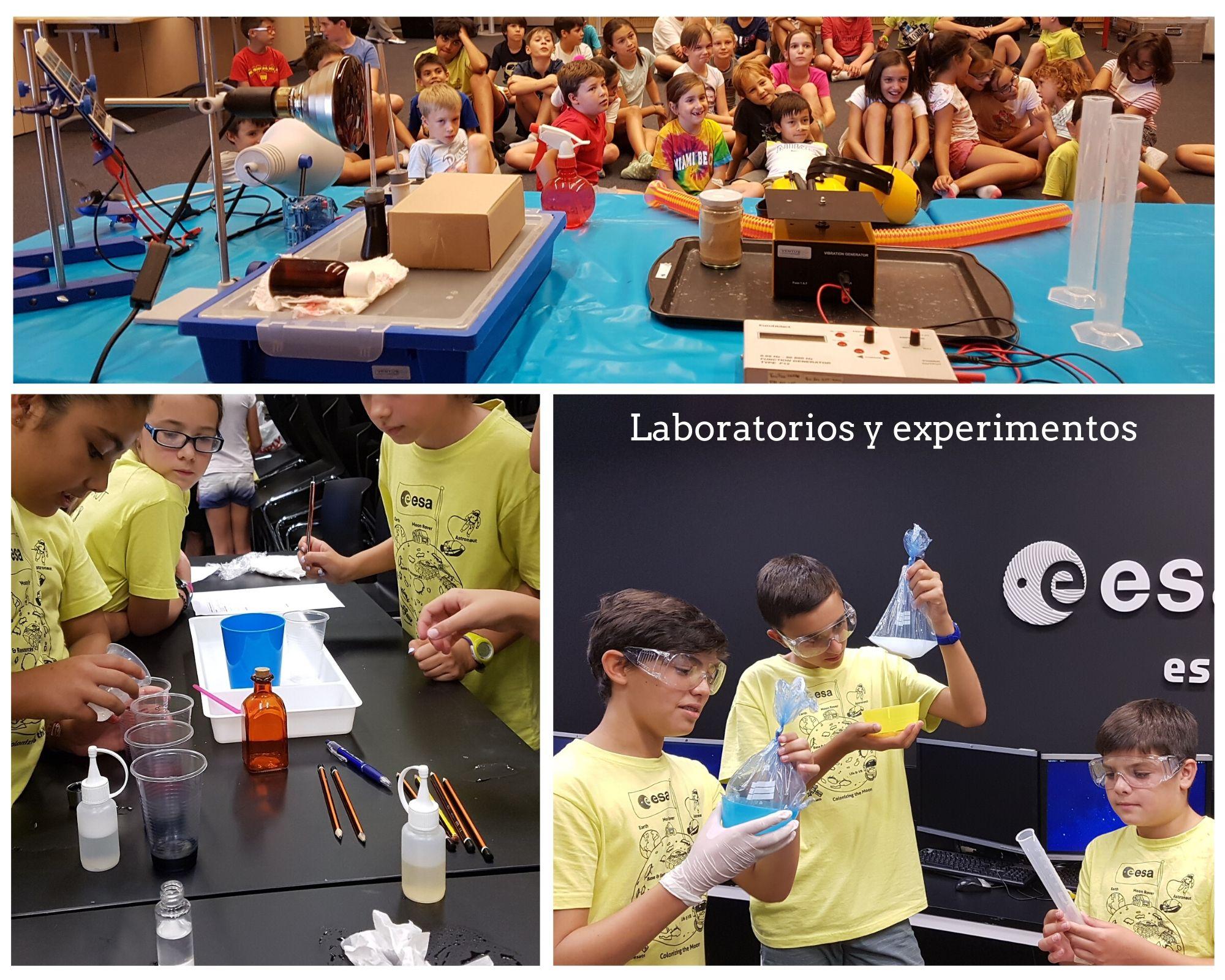 Experimentos y laboratorios