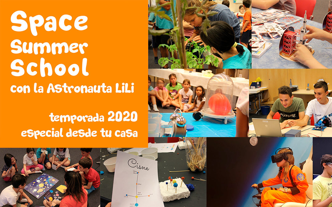 ¡Últimas plazas! Online Space Summer School