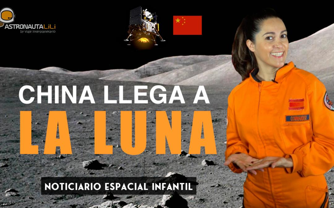 China aterriza en la Luna. Noticiario espacial 12/12/2020