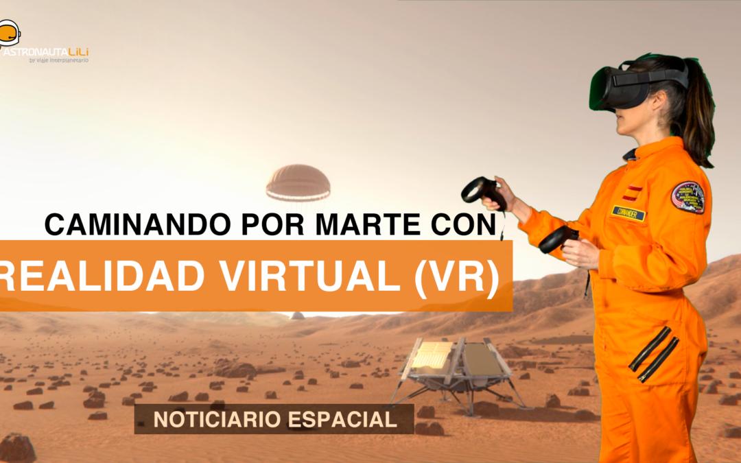 Mission: Mars. Camina por Marte en realidad virtual (VR)