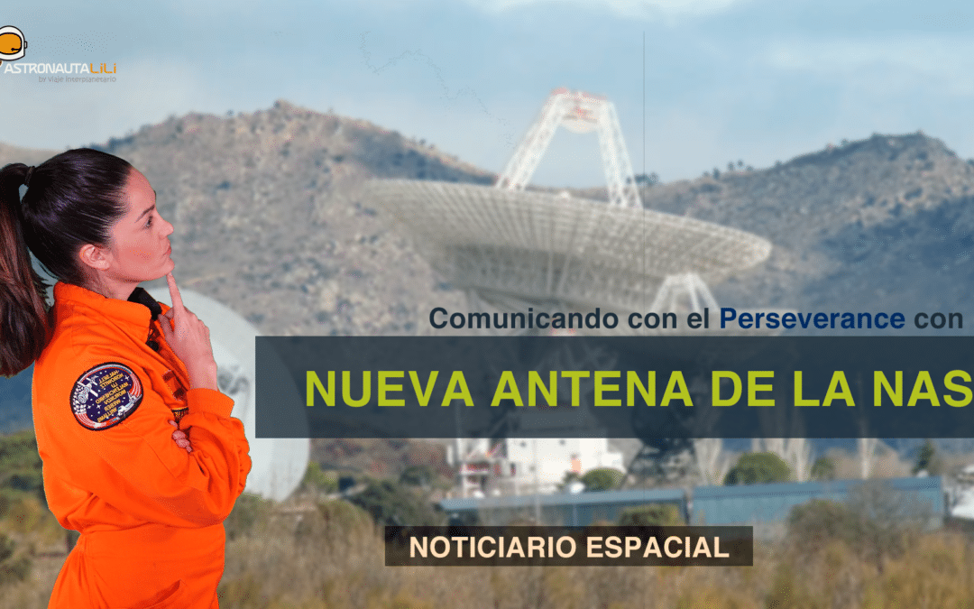 ¡Nueva antena de NASA en España! | El INTA instala una moderna antena de 34 metros.