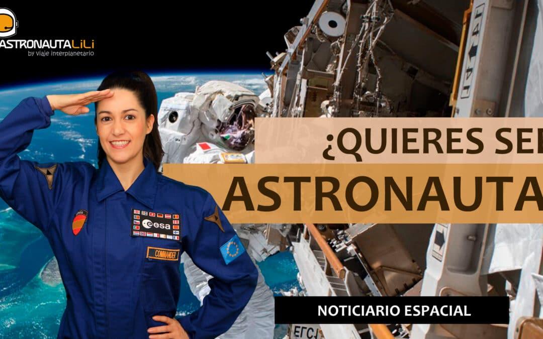 ¿Cómo ser astronauta de la ESA?   Nuevas imágenes de Marte   Roberto Brasero en el Tiempo