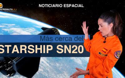 Starship SN20 | Motor de curvatura | Energía Solar | La Tierra se acelera
