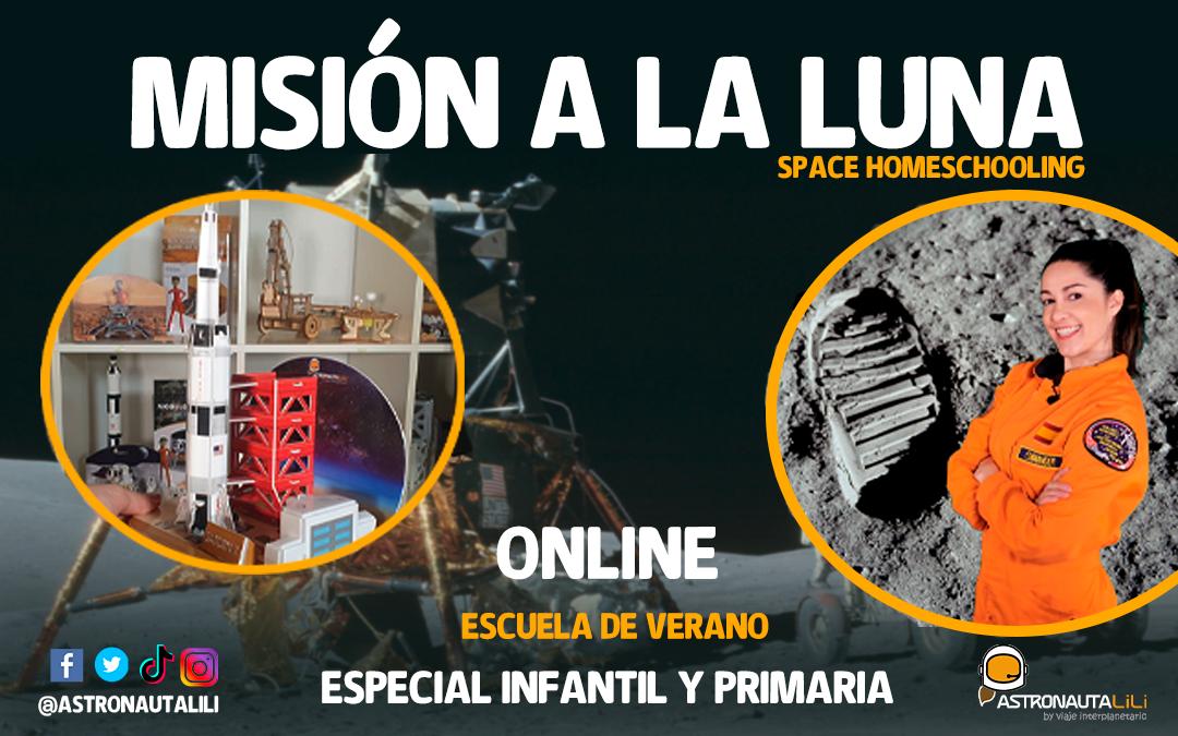 Escuela Lunar: De 5 a 8 años        – 28 de junio al 2 de julio –