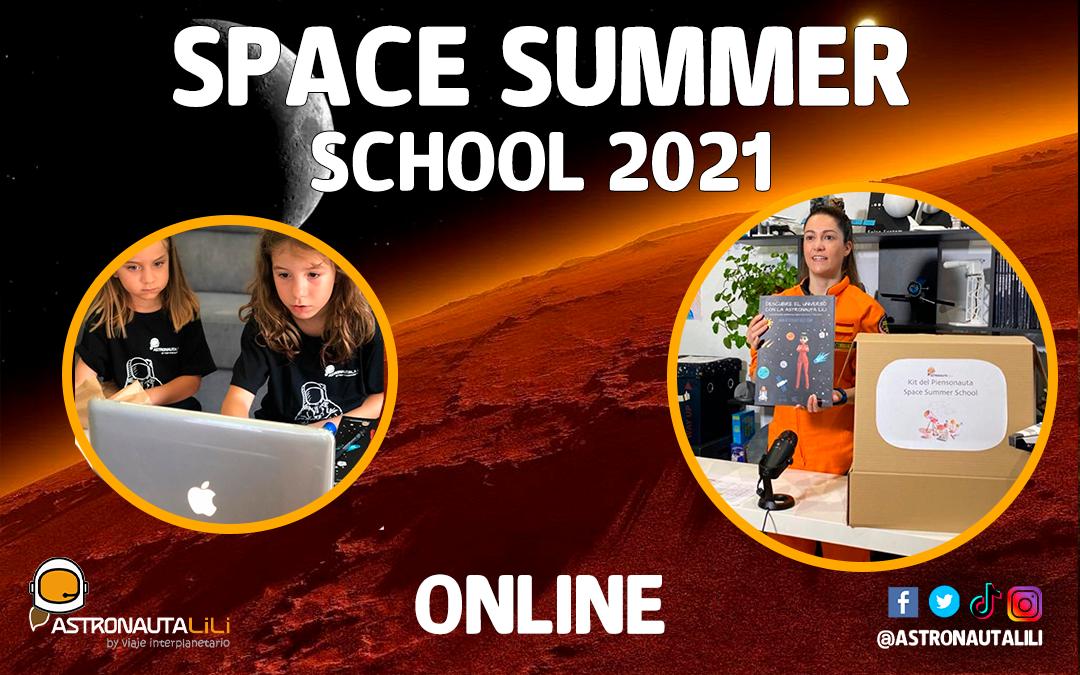 Campamento Espacial: De 6 a 16 años –  5 al 16 de julio