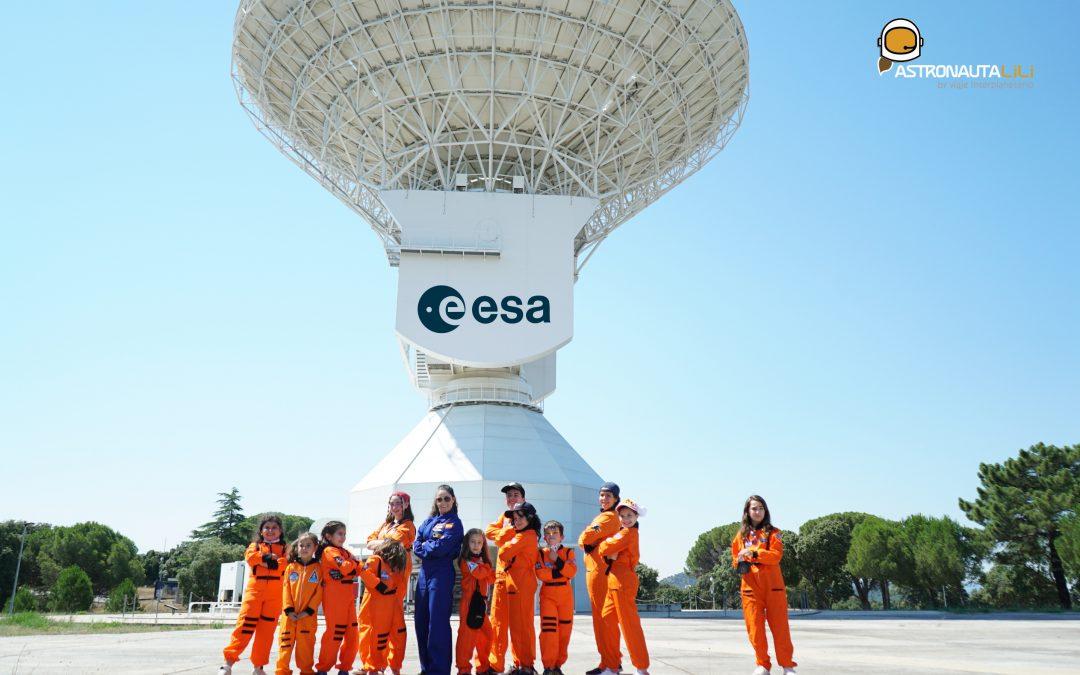 Excursión Espacial del Space Summer School 2021