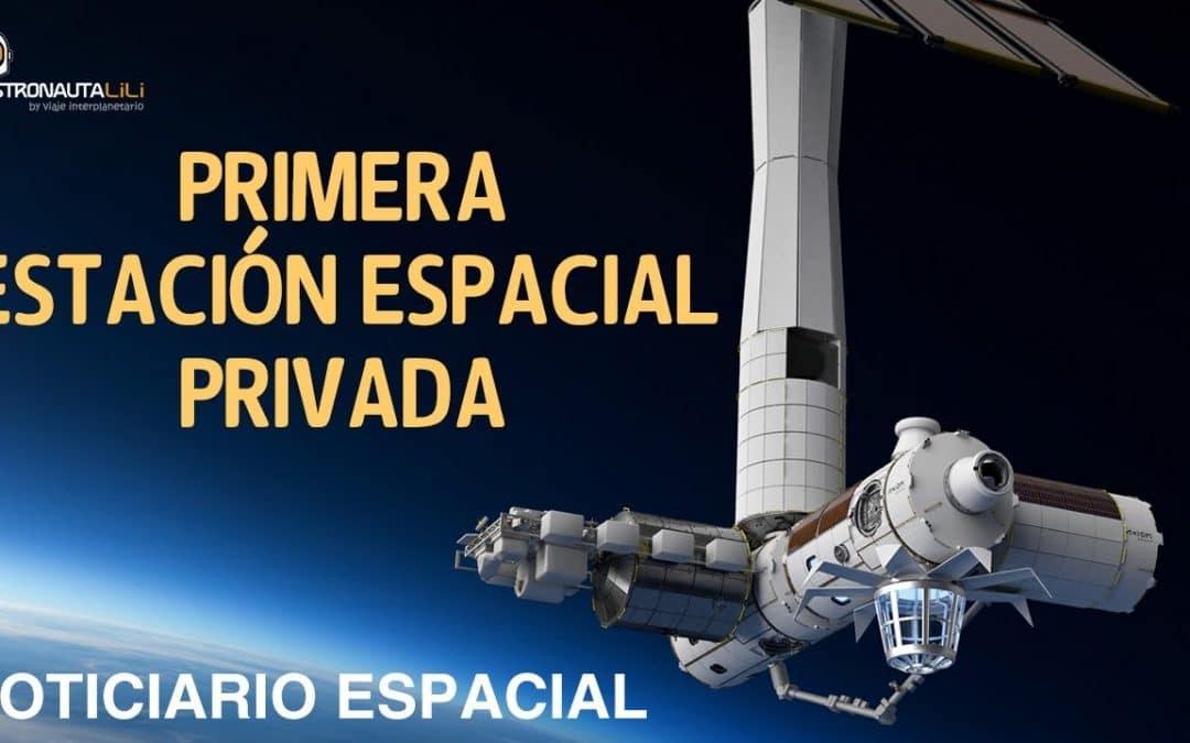 La Primera Estación Espacial Privada (Axiom) | Plataforma Oceánica de SpaceX