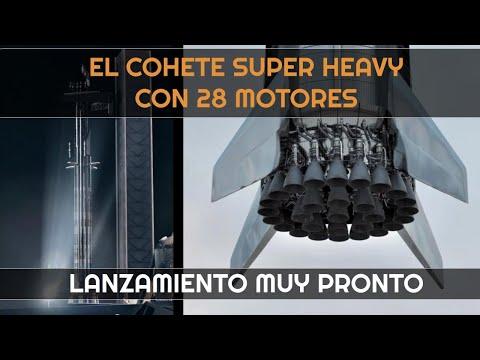 29 Motores Raptor instalados en Super Heavy Booster 4 I Starship S20 con nuevas losetas