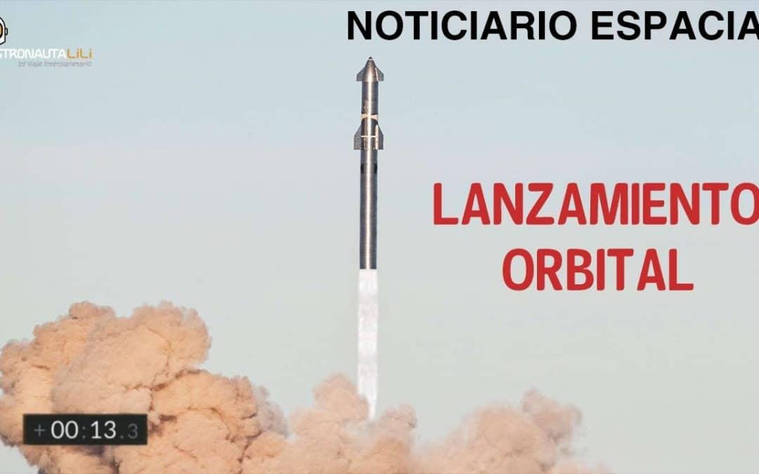 Lanzamiento Orbital B4 + S20 SpaceX muy pronto I  Hubble I Zhurong I Noticiario Espacial Semanal